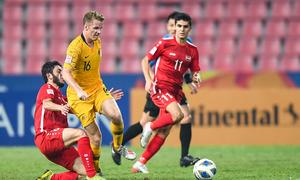Australia vào bán kết giải U23 châu Á Sea Games 2019 - VnExpress