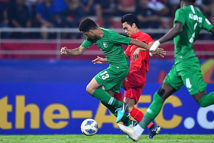 Thể lực yếu khiến Thái Lan không thể tạo ra cơ hội sau khi bị dẫn bàn. Ảnh: AFC.