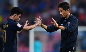 Nishino muốn làm nên lịch sử cùng bóng đá Thái Lan Sea Games 2019 - VnExpress