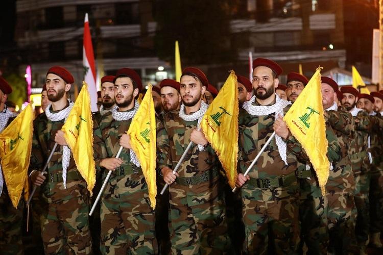Lực lượng Hezbollah diễn hành ở thủ đô Beirut, Lebanon hồi tháng 3/2019. Ảnh: AFP.