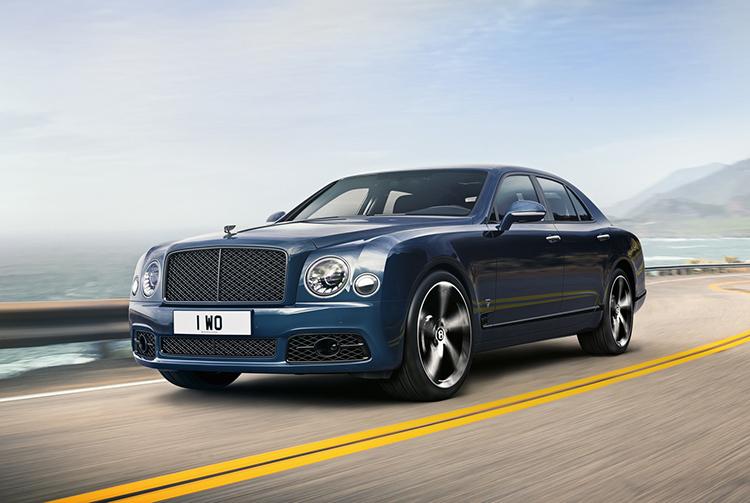 Bentley Mulsanne bản đặc biệt.