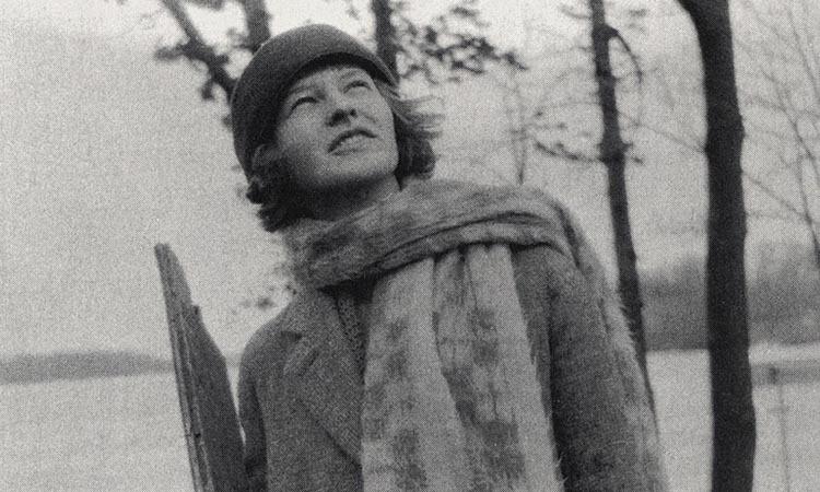 Mildred Harnack hồi năm 1923. Ảnh: UW-Madison.