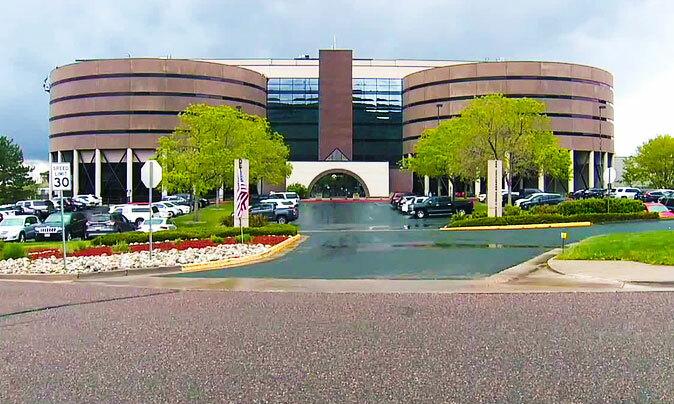 Tầng 7 của trại giam quận Jefferson, bang Colorado đã bị đóng cửa vì giảm ngân sách. Ảnh: The Denver Channel.