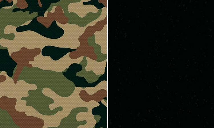 Tài khoản JRehling so sánh mẫu quân phục ngụy trang của USSF (trái) với màu vũ trụ. Ảnh: JRehling/Twitter.