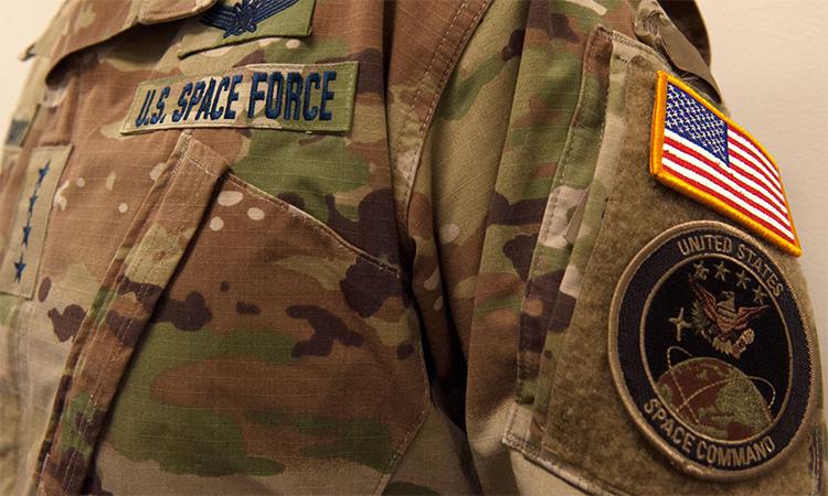 Quân phục ngụy trang của Lực lượng Vũ trụ Mỹ được quân chủng công bố ngày 18/1. Ảnh: USSF.