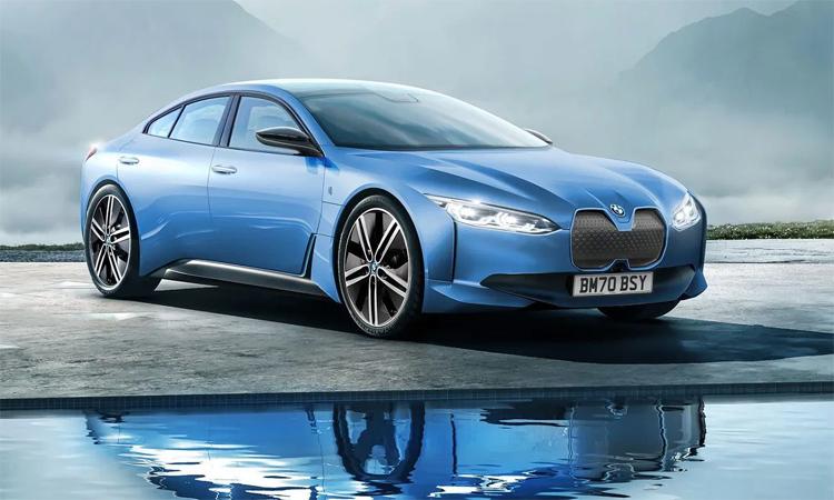 i4 sẽ là mẫu xe điện sản xuất từ nhà máy sắp được nâng cấp ở Munich. Ảnh: BMW