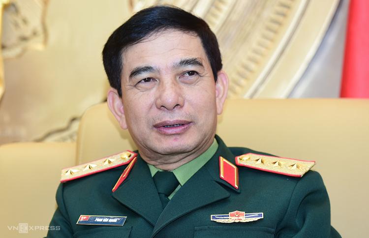 Thượng tướng Phan Văn Giang, Tổng tham mưu trưởng Quân đội nhân dân Việt Nam, Thứ trưởng Quốc phòng. Ảnh: Giang Huy