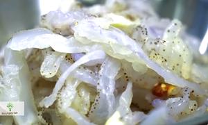 Quy trình sản xuất sứa ăn liền