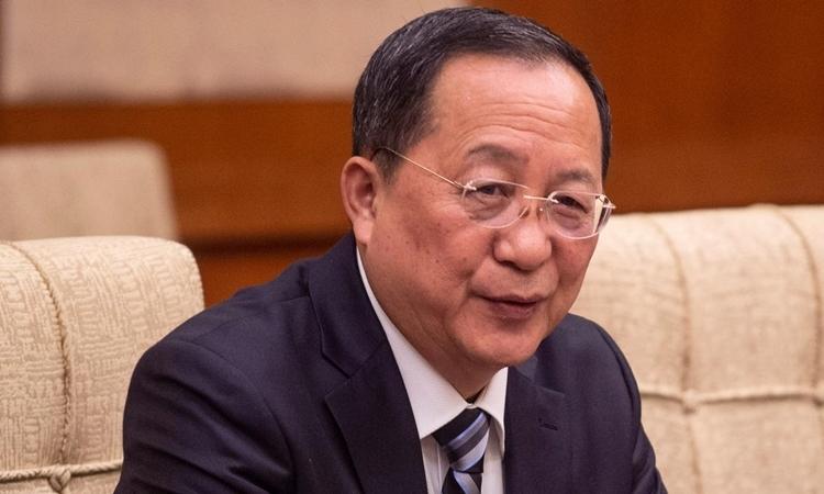 RiYongHo tại Trung Quốc tháng 12/2018. Ảnh: Reuters.