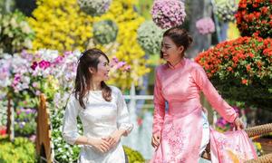 Hội hoa xuân lớn nhất Sài Gòn