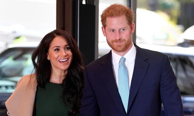 Harry - Meghan dự một sự kiện ở London hồi tháng 10 năm ngoái. Ảnh: Reuters.