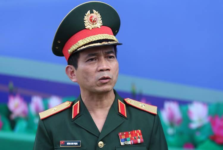 [Caption]Thiếu tướng Hoàng Kim Phụng, Giám đốc Cục Gìn giữ hoà bình Việt Nam. Ảnh: Gia chính