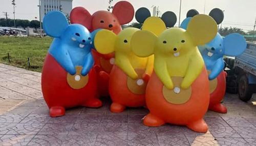 Biểu cảm hài hước của những chú chuột năm Canh Tý - 2
