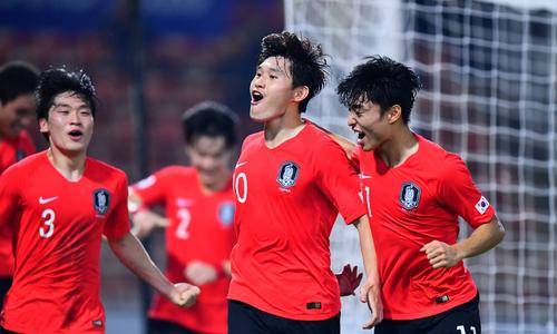Hàn Quốc vào chung kết U23 châu Á Sea Games 2019 - VnExpress