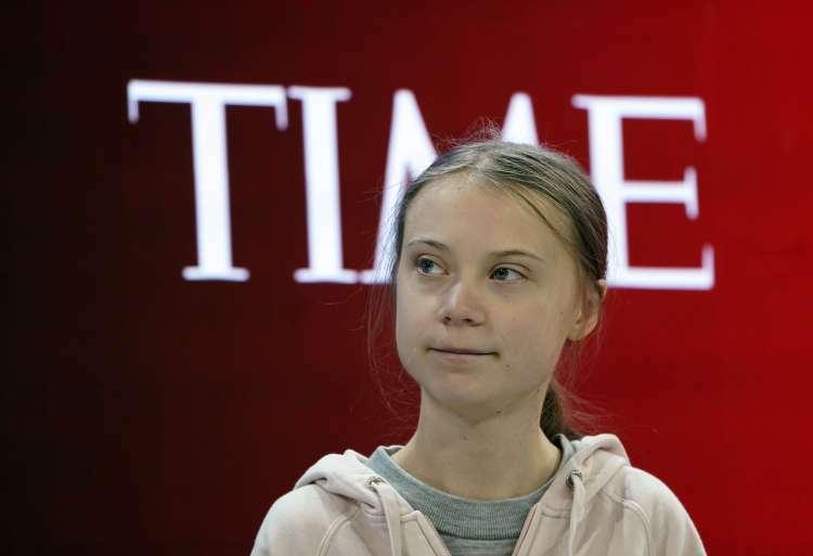 Greta Thunberg tại Diễn đàn Kinh tế Thế giới ởDavos ngày 21/1. Ảnh: Reuters.