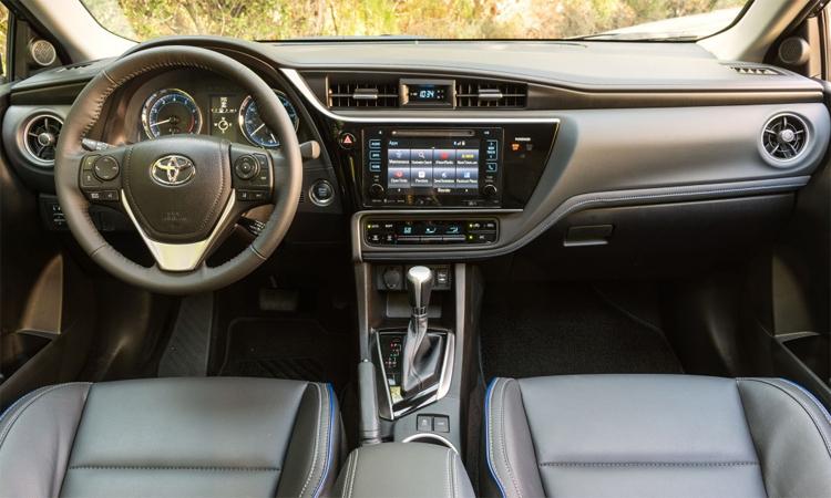 Một mẫu xe Corolla đời 2018 thuộc danh sách triệu hồi. Ảnh: Toyota