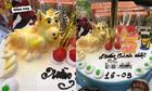 Chị gái hoang mang vì linh vật trên bánh sinh nhật của em trai