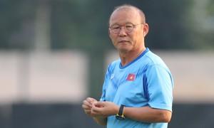 Thầy trò Park Hang-seo chúc Tết