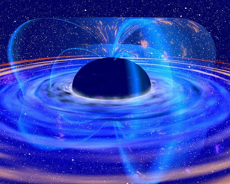 Thiên hà IRAS 13224-3809 là một trong những thiên hà chứa hố đen có nguồn tia X biến đổi nhất trong vũ trụ. Ảnh: Sci-news.