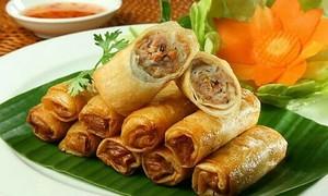 Nem rán - tinh hoa ẩm thực Tết Việt