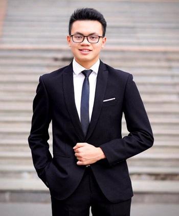 Nguyễn Nhật Quang, học sinh trường THPT Chuyên Hà Nội - Amsterdam. Ảnh: Nhật vật cung cấp.