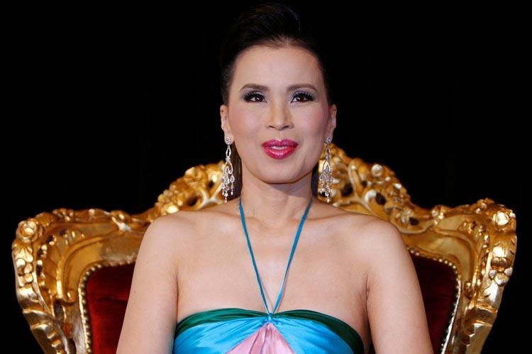 Công chúa Ubolratana tại một cuộc họp báo ở Pháp năm 2008. Ảnh: Reuters.
