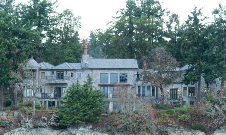 Biệt thự vợ chồng Harry - Meghan đang cư trú tại quận Bắc Saanichthuộc khu vực Victoria mở rộng. Ảnh: AFP.