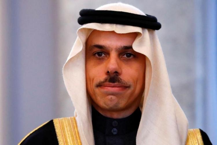 Hoàng tử Faisal bin Farhan Al Saud tại Đức, ngày 27/3. Ảnh: Reuters.