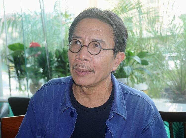 Nhà văn Nguyễn Ngọc Tiến. Ảnh: Viết Tuân.