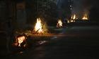 Tục đốt lửa trước nhà trong đêm giao thừa