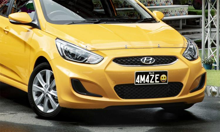 Kiểu biển số xe có biểu tượng cảm xúc ở Queensland, Australia. Ảnh: The Star