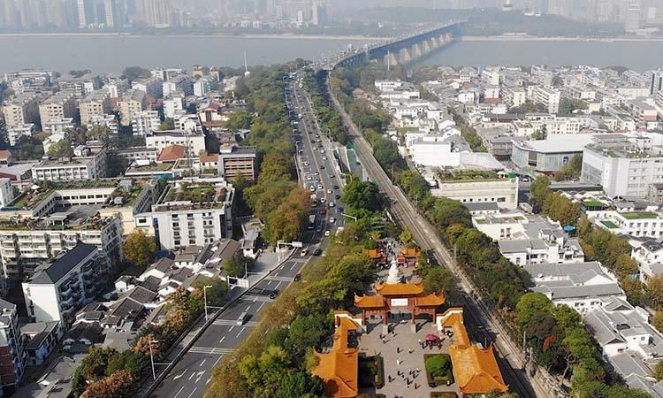 Một góc thành phố Vũ Hán, thủ phủ tỉnh Hồ Bắc, Trung Quốc. Ảnh: SCMP.