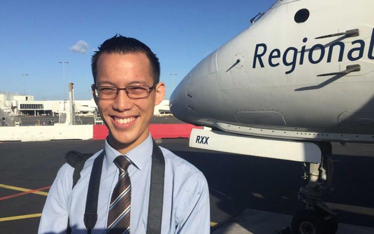 Thầy giáoEddie Woo. Ảnh: Rebecca Baillie/ABC News