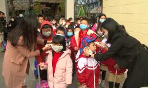 Trường học phòng dịch nCoV cho học sinh