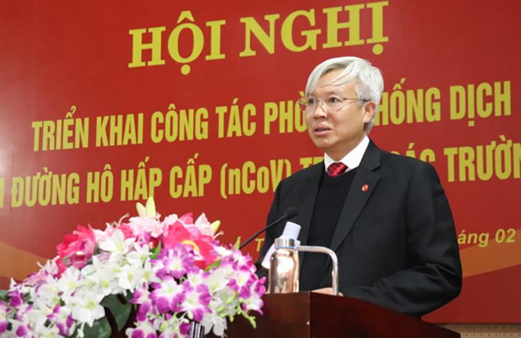 Ông Lê Đình Long phát biểu tại sự kiện.