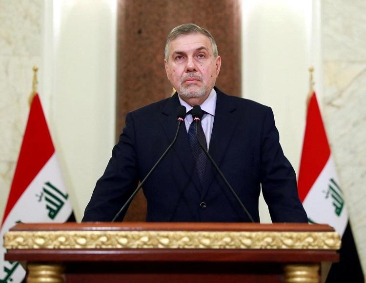 Tân Thủ tướng Iraq Mohammed Tawfiq Allawi phát biểu trên truyền hình hôm 1/2. Ảnh: Reuters.