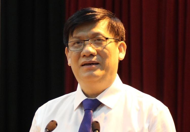 Thứ trưởng Y tế Nguyễn Thanh Long. Ảnh: Hoàng Thuỳ