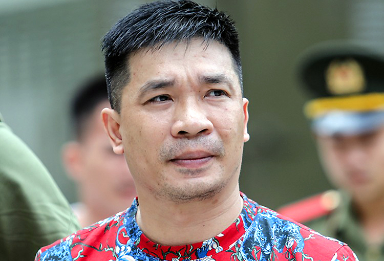 Văn Kính Dương trong lần ra tòa hồi tháng 5/2019. Ảnh: Thành Nguyễn.