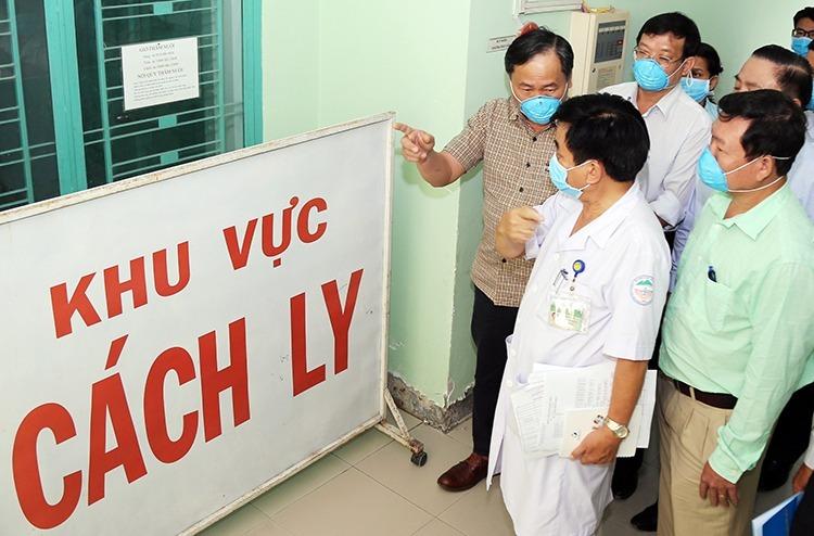Khu cách ly người bệnh tại Bệnh viện Nhiệt đới Khánh Hòa, ngày 2/2. Ảnh: Xuân Ngọc
