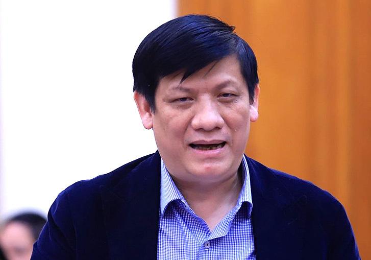 Thứ trưởng Y tế Nguyễn Thanh Long. Ảnh: X.H.