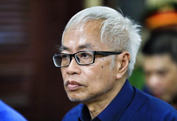 Ông Trần Phương Bình trong lần ra tòa năm 2019. Ảnh: Hữu Khoa.