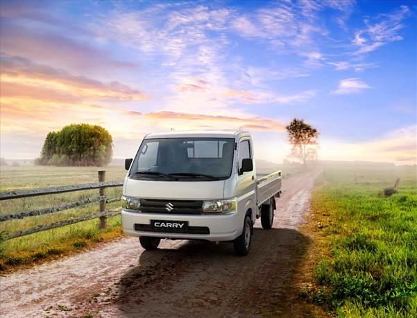 Mẫu tải nhẹ Super Carry Pro 2019 mang thiết kế mới của Suzuki.
