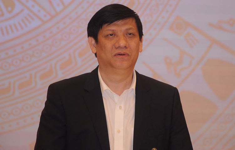 Ông Nguyễn Thanh Long, Thứ trưởng Y tế. Ảnh: Viết Tuân