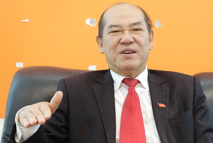 Ông Nguyễn Đức Hà, nguyên Vụ trưởng Cơ sở Đảng, Ban Tổ chức Trung ương. Ảnh: Hoàng Thuỳ