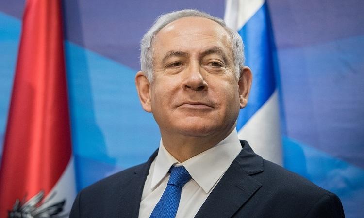 Thủ tướng Israel Netanyahu tại văn phòng thủ tướng hồi tháng 1/2019. Ảnh: Times of Israel.