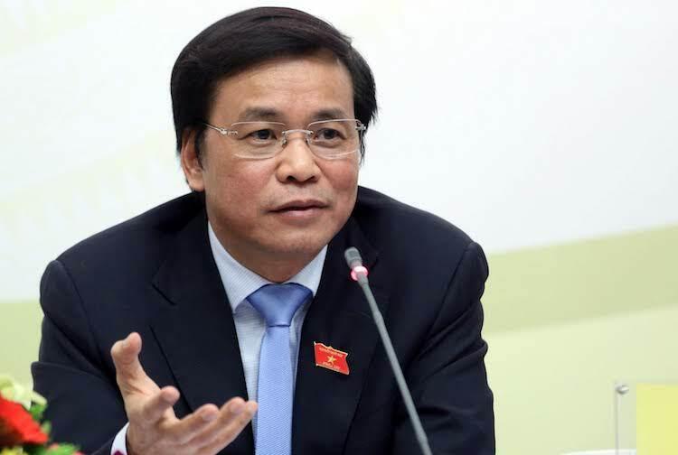Tổng thư ký Quốc hội Nguyễn Hạnh Phúc. Ảnh: Ngọc Thắng