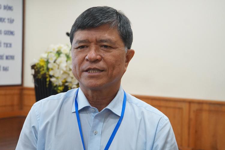 Ông Nguyễn Văn Hiếu, Phó giám đốc Sở Giáo dục và Đào tạo TP HCM. Ảnh: Mạnh Tùng.