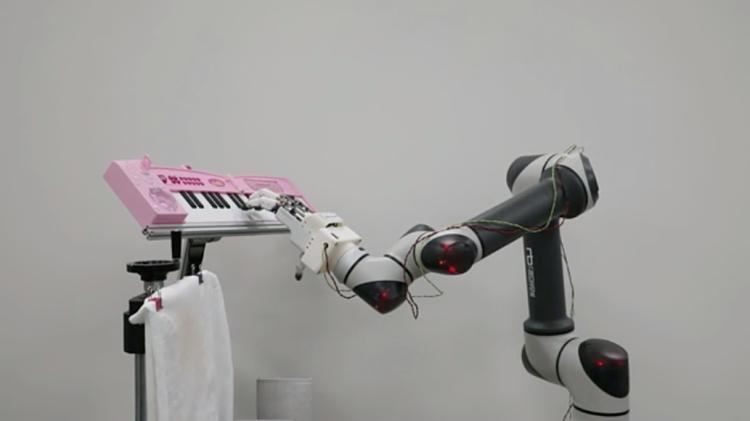 Bàn tay robot của KIMM có bốn ngón tay và 16 khớp. Ảnh: techxplore