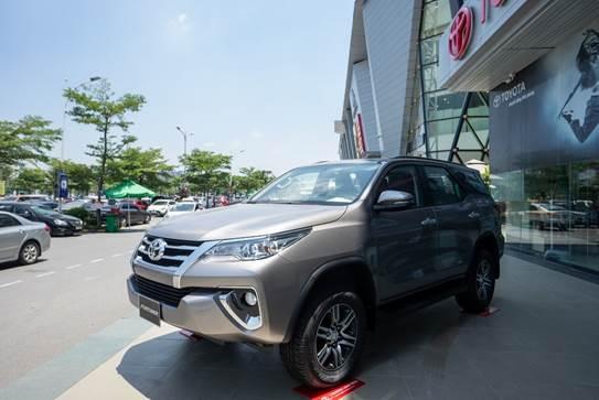 Toyota Fortuner phiên bản mới.