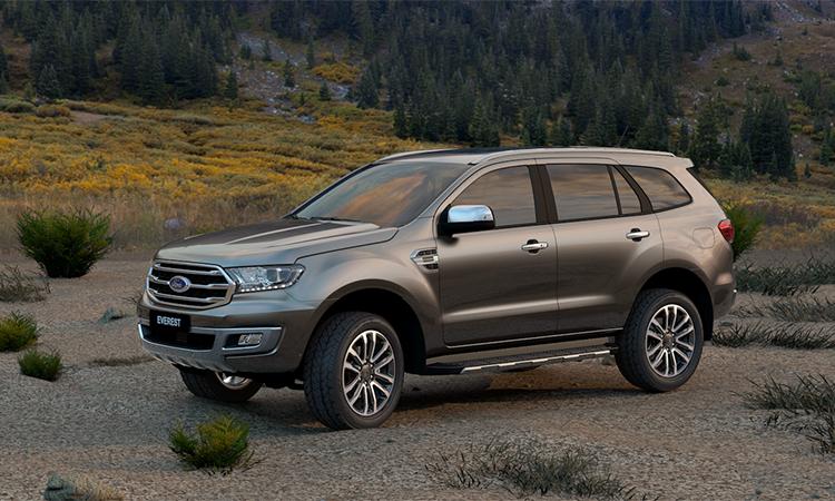 Ford Everest 2020 giá từ 999 triệu. Ảnh:Ford.